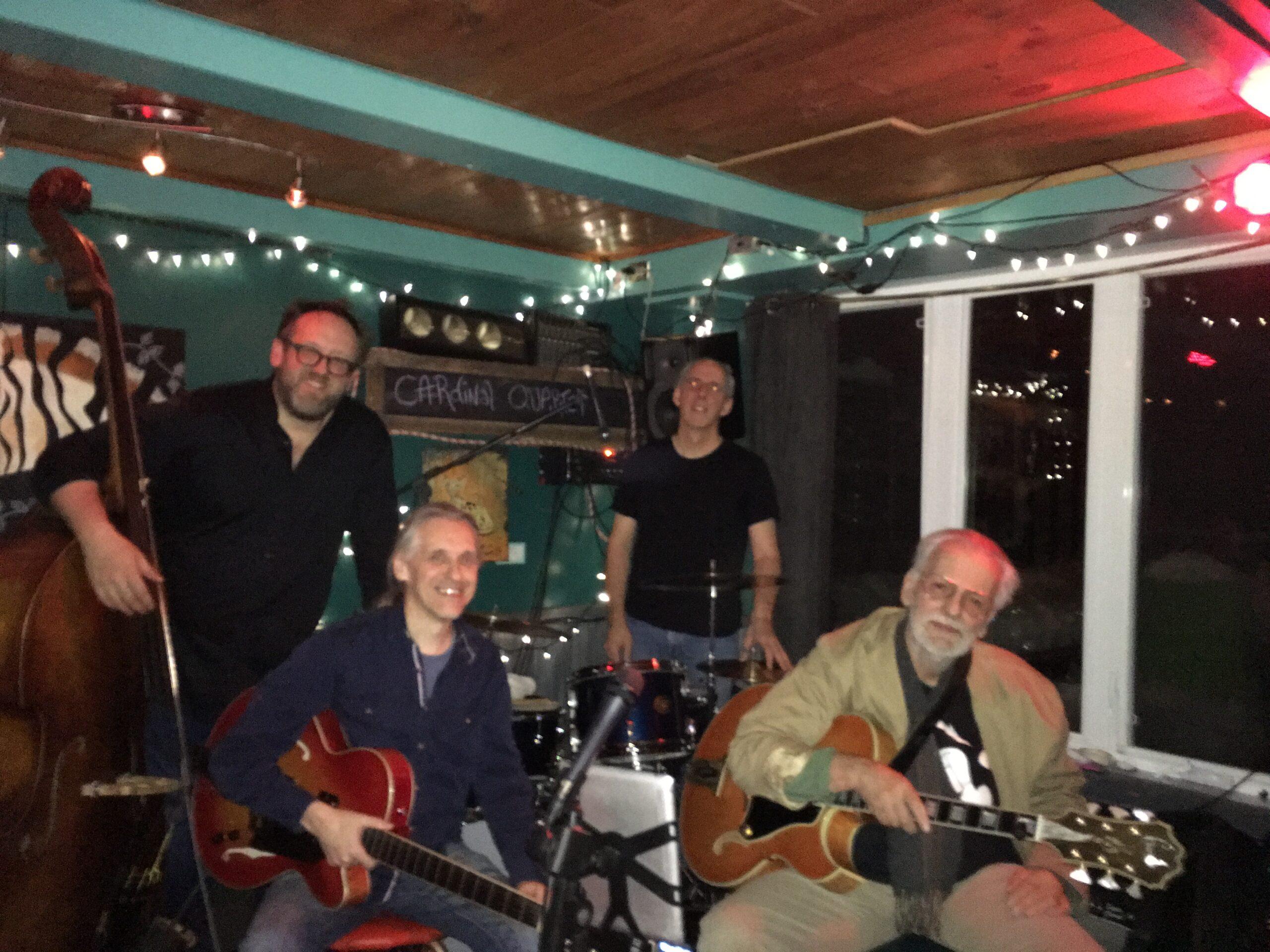 riCardinal trio avec Mike Gauthier